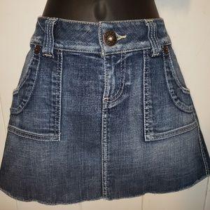 Guess  Denim Mini Skirt  size 28